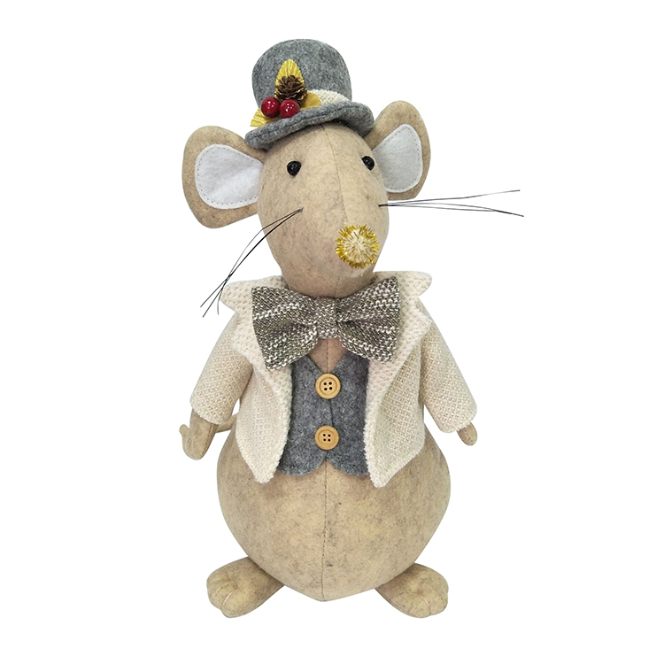 Christmas Rat Door Stopper
