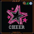 Strass Glitter Cheer et Pink Star strass hotfix