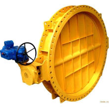 worm gear /turbine drive pneumatic butterfly valve