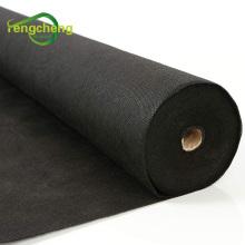 Нетканый материал из полипропилена черного цвета