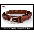 Fashion Bonded Leather Weave Belts