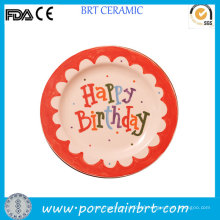 Custom Design Birthday Gift Kids Plate