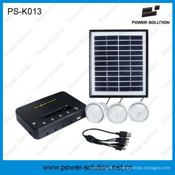Мини-проекты Домашняя система Солнечной силы с 4 Вт панели солнечных батарей и зарядное устройство для мобильного