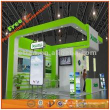 2013 nouveau design personnalisé exposition stand design stand exposition stand pour expo