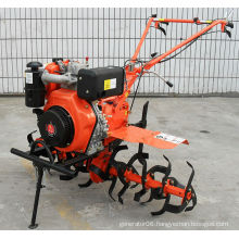 Single cylinder field tiller