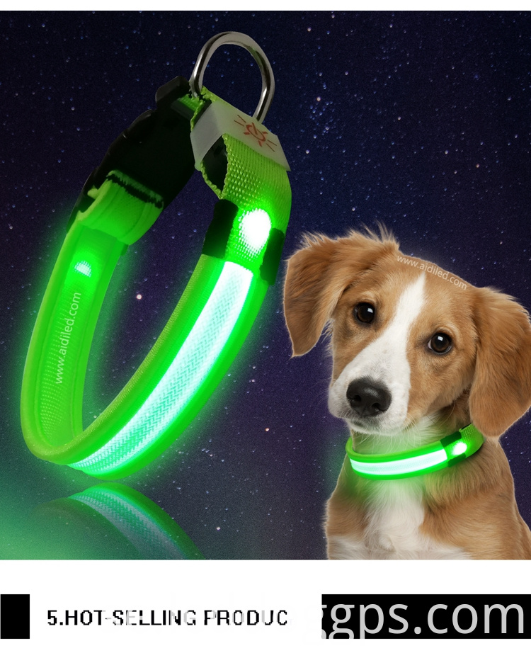 Dog Collar Light Rechargeable