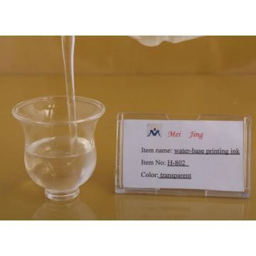 utilisation d'encre pigmentée à base d'huile sur la mosaïque de cristal