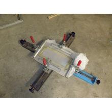 Tela de seda manual simples que estica a máquina com negócio da impressora da tela