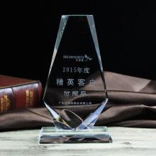 Heiße Verkäufe personifizierte Kristallplaketten-Leistungs-Sport-Medaille