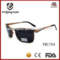 mens style square shape frame Italian brand sunglasses