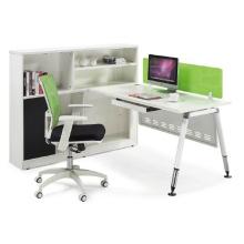 Bureau d'ordinateur moderne MFC Staff avec mobilier de bureau Hutch (HF-CA001)