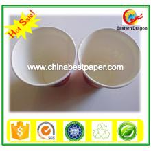 Placa de papel revestido com polpa virgem PE 230g