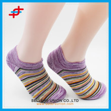 Argyle Summer Fashion Breathable mince Chaussettes de cheville causale
