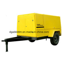 High Pressure Construction Diesel Engine Driven Portable Screw Compressor (PUD07-07)