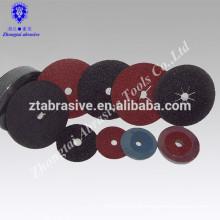ceramic fiber disc/ abrasive r disc cutter
