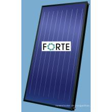 Blauer überzogener flacher Platten-Sonnenkollektor