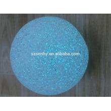 Decoração de exibição de janela multi mudança de cores luz noturna led bola