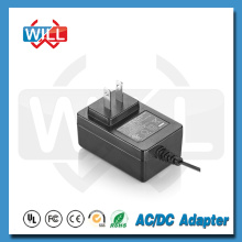 Input 100v to 240v US switching power adapter