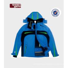 Respirável Impermeável Plus Size um pedaço de roupas de esqui personalizado jaquetas de neve