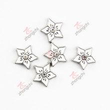 Esmalte de aleación de zinc Estrella de metal encantos (FC)