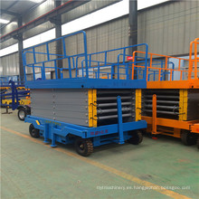 Plataforma móvil de elevación de 4 ~ 18 m Plataforma elevadora de tijera móvil