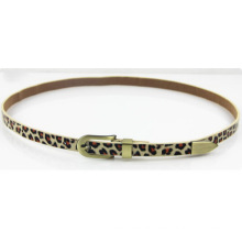 Woman Fashion Leopard PU belt