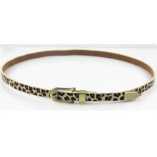 Женская мода Leopard PU пояс