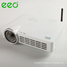 Newest !!! Portable DLP Led Mini pico projector with android wifi wireless miracast DLNA bluethooth USB