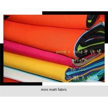 Tecido mini matt para roupas trabalhadoras vende para o mercado dos EUA