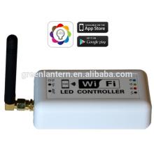 rgb led controlador programable wifi conectado fácil de instalar