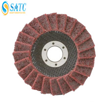 Non-woven cloth flap wheel /abrasive disc