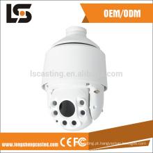 cctv câmera de segurança tampa cctv dome câmera capa capa die casting