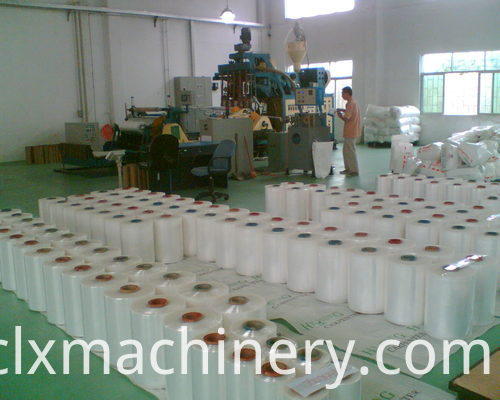 stretch wrapping film production line