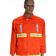 Reflective coat for sanitationworkers