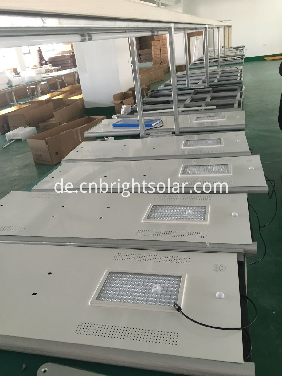 High Brightness Intergrated Solar Street Light 120W