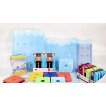 placa de bloco de gelo frio reutilizável em plástico rígido