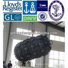 Gran elasticidad del encofrado de hormigón neumático de caucho