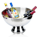 Big capacity 14L stainless steel silver champagne ice bucket bowl