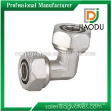 Latão Equal Elbow latão compressão acessórios para PEX-AL-PEX Pipe