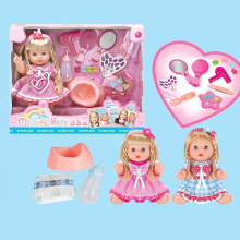 "14"" девочек игрушки детские куклы игрушки оптом со звуком"