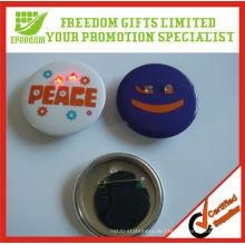 Verschenken Sie Logo Printed Flashing Light Badge