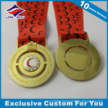 UAE Gold Eagle Custom Made Metal Medal Manufacturer