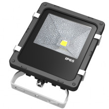 1000 Lumens 10W Aluminum LED Floodlight Waterproof Flood Light
