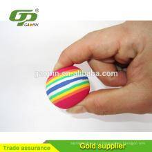 Красочный EVA Радуга мяч для гольфа игрушки для Крытое тренировочное поле для гольфа