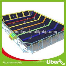 Parc professionnel trampolines rectangulaire LE.BC.050
