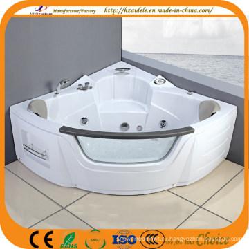 Double People Corner Крытая ванна с джакузи для душа (CL-350)