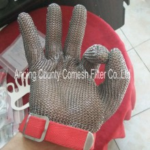 304 Stainless Steel Butcher Cutting Safety Gloves