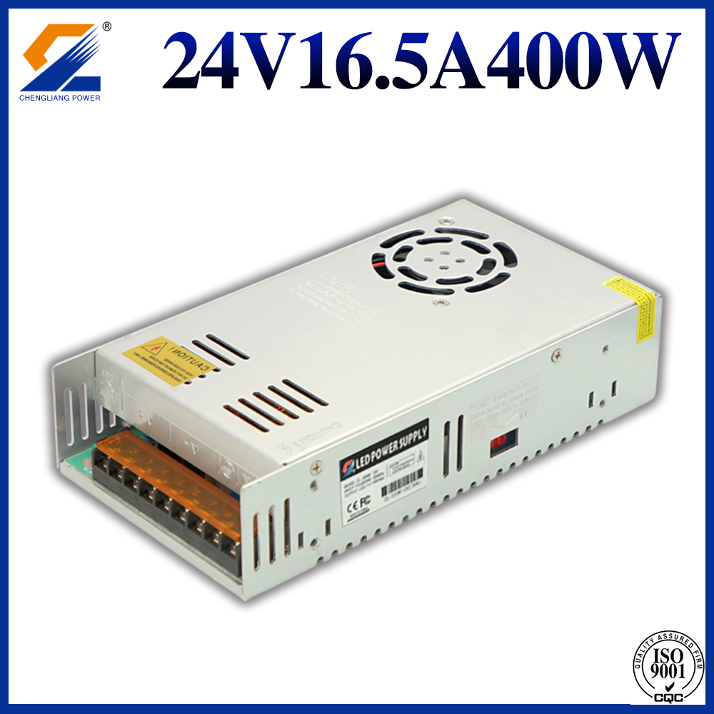 24V 16.5A 400W SMPS voor LED Strip Light
