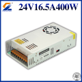 CE RoHS factory price LED power supply 24V 400W Waterproof