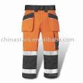 Naranja Pantalones reflectantes de alta visibilidad